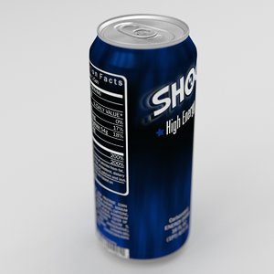 3d obj shock energy drink