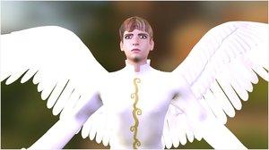 3d model angel