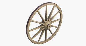 36 inch wagon wheel max