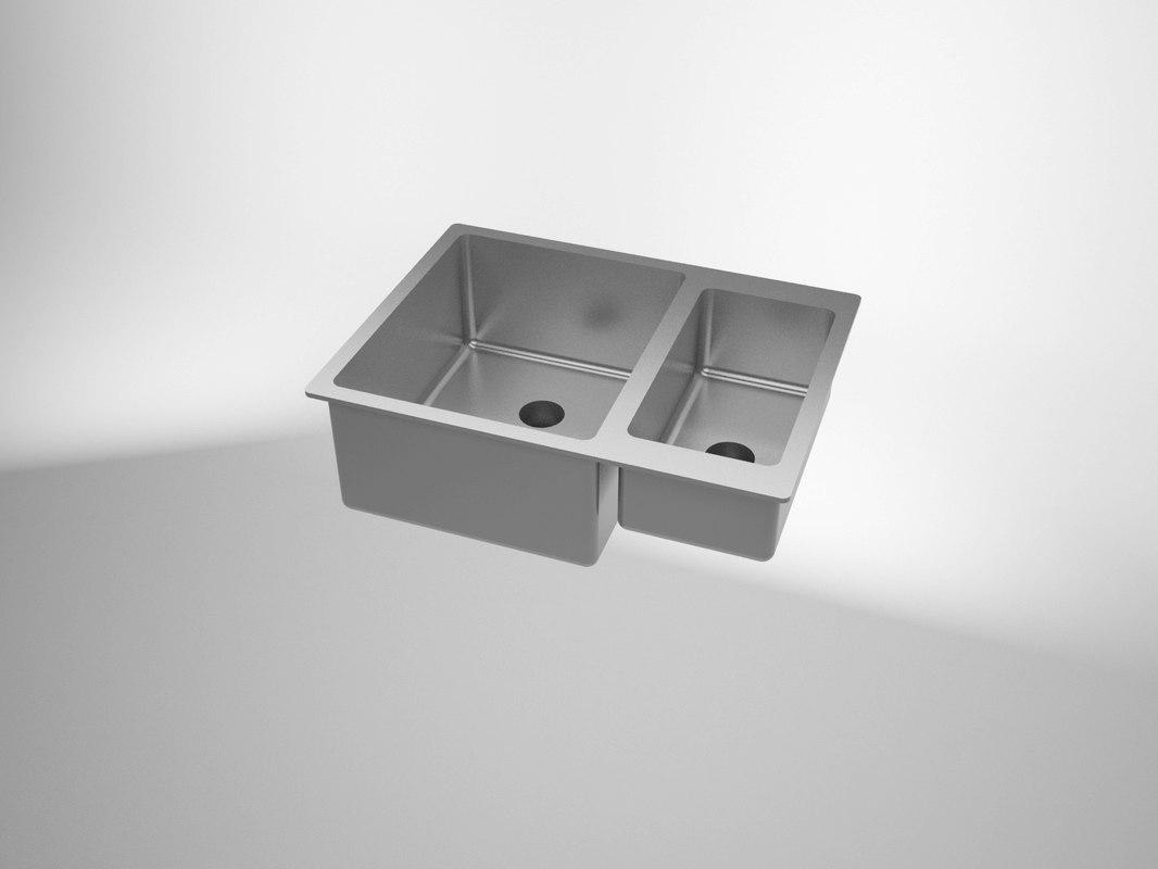 sink solidworks 3d obj