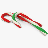 3d model christmas candies