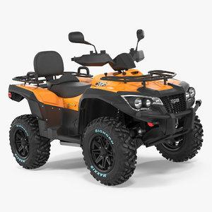 quad bike tgb 1000 3d model