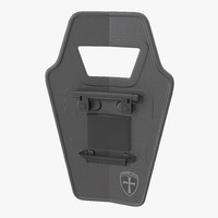 3d ballistic shield