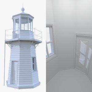 lighthouse interior light 3d model