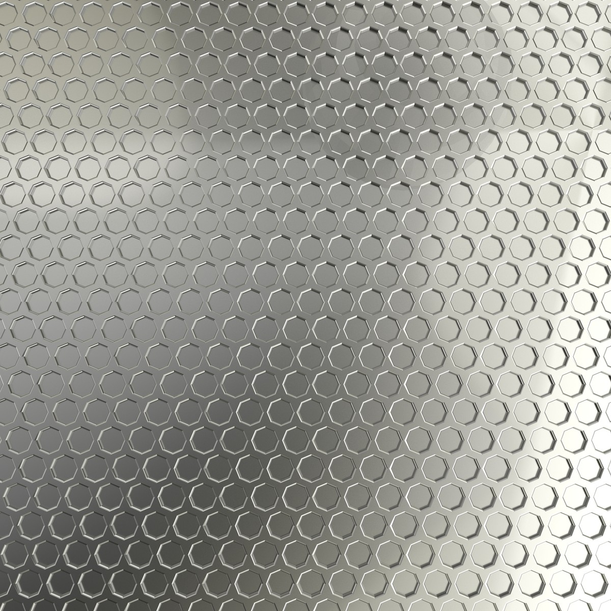 honeycomb metal plate 3d model