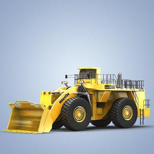 komatsu wheel loader wa1200 max