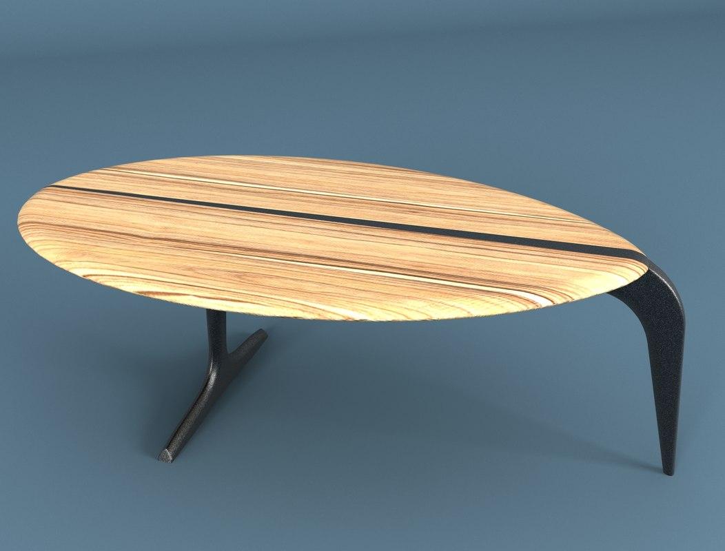 3d cofee table model