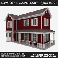 Lowpoly family house - f_house021_3ds.rar