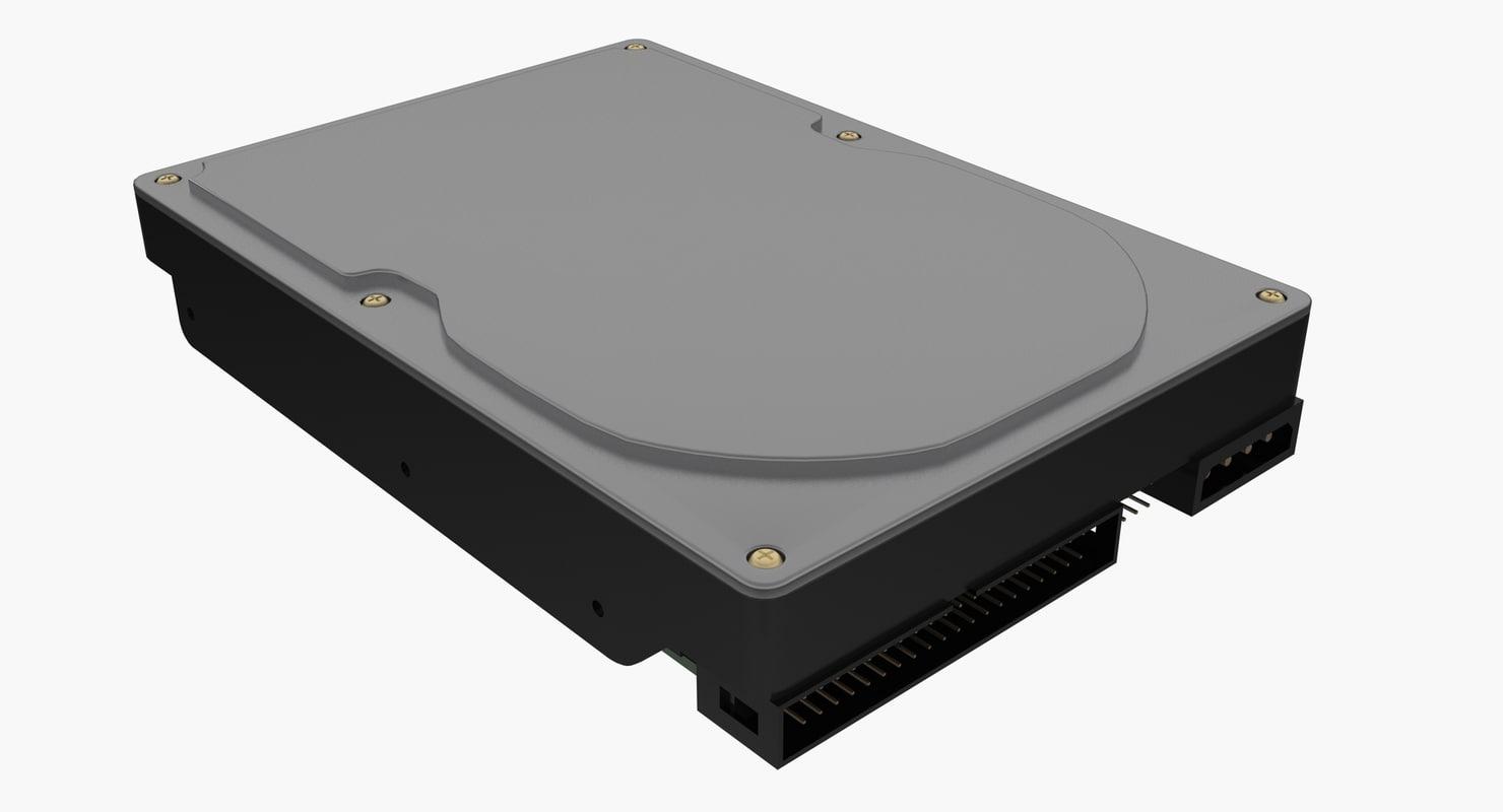 3d ide hard drive