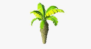 toon palm 3d model