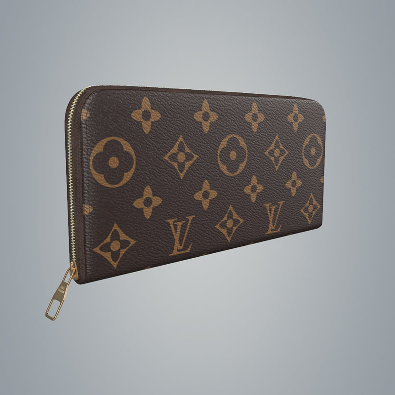 3d model louis vuitton purse