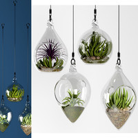 HANGING BOWL VASES