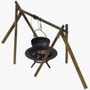 Cauldron 3D models