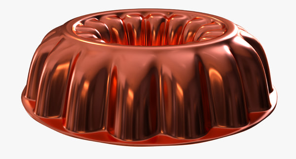 jello mold 3d model