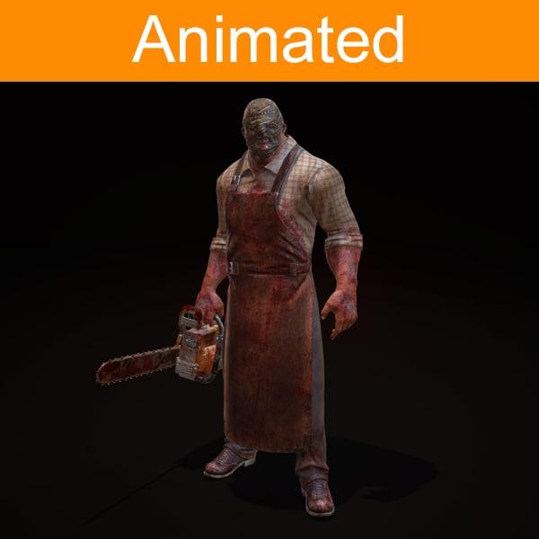 character butcher 3d fbx