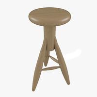 stool artek 3d max