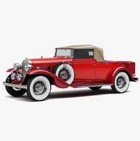 3d buick 96c 1932 model