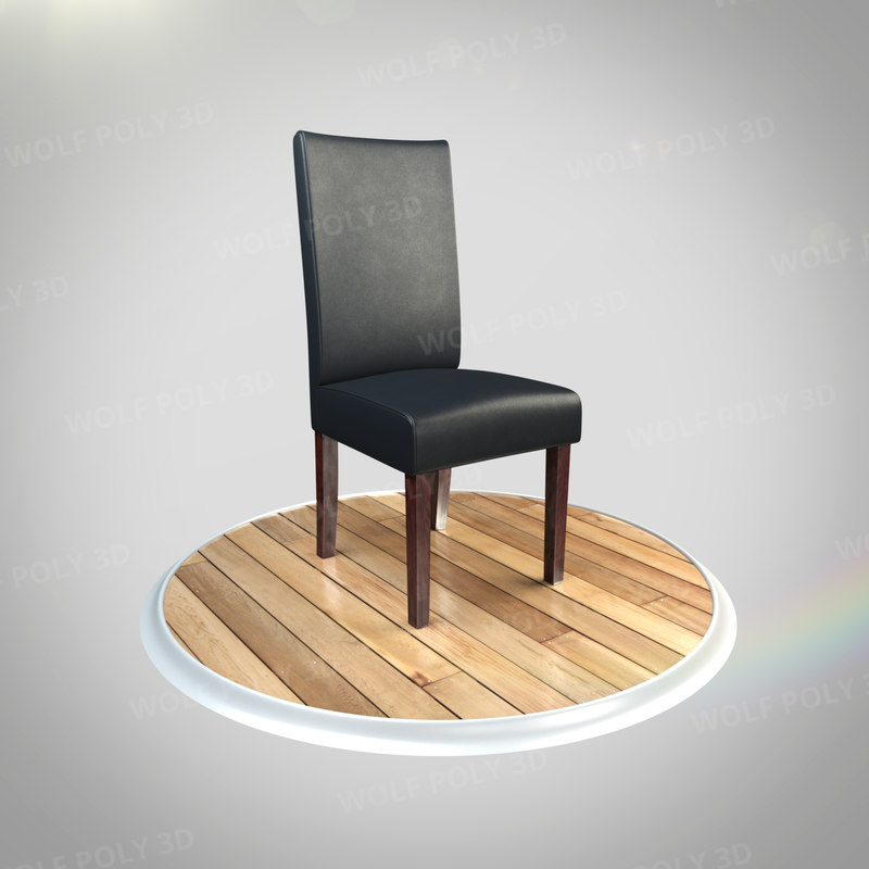 chair dining obj
