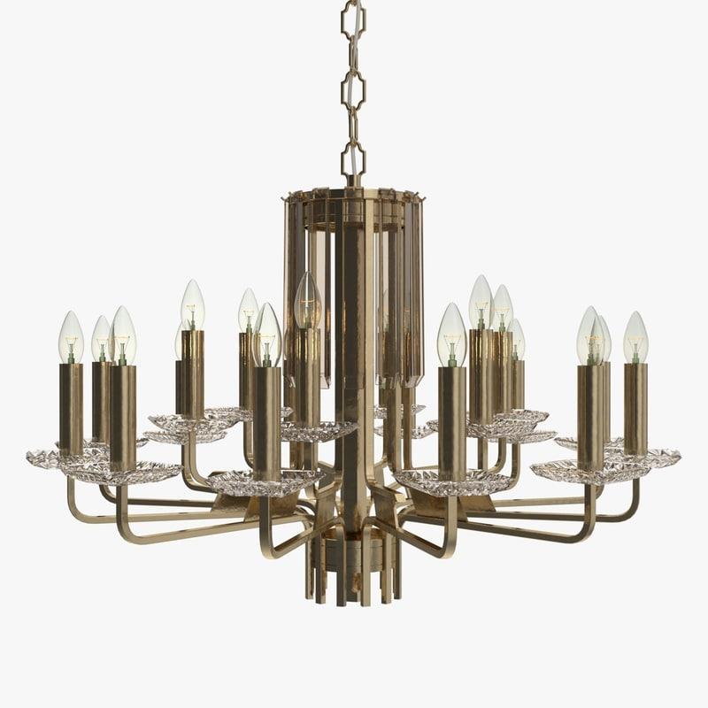 faustig - chandelier 63412-18 3ds
