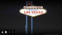 3d model of las vegas sign