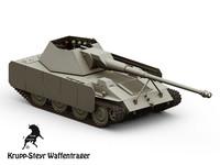 3d steyr krupp model