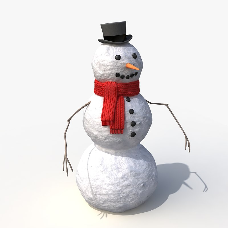snowman snow max