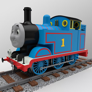 3d thomas tank engine model