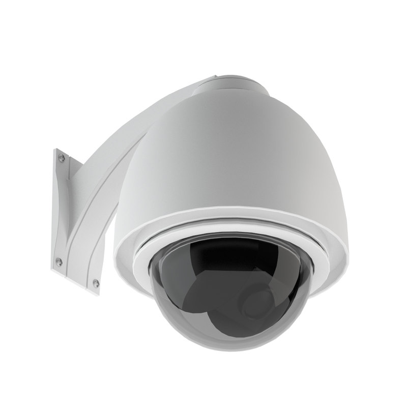 3d model security camera 02