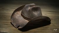 3d wild west cowboy hat