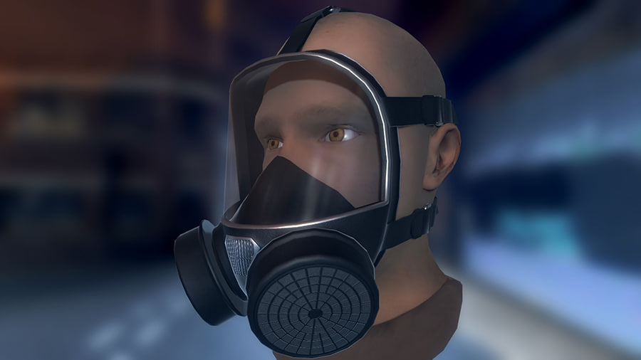 gas mask 3ds
