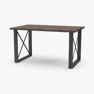 desk 3 3d max