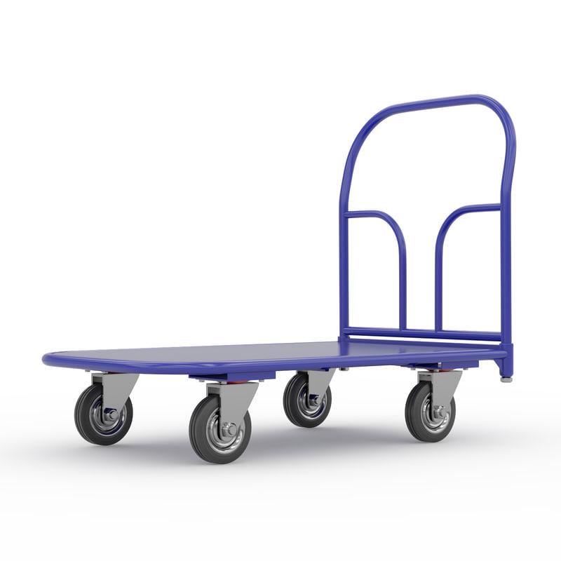 car cart c 3d model