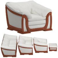 3d sofa set 15