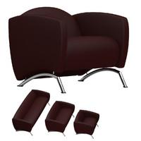 sofa set 01 3d max