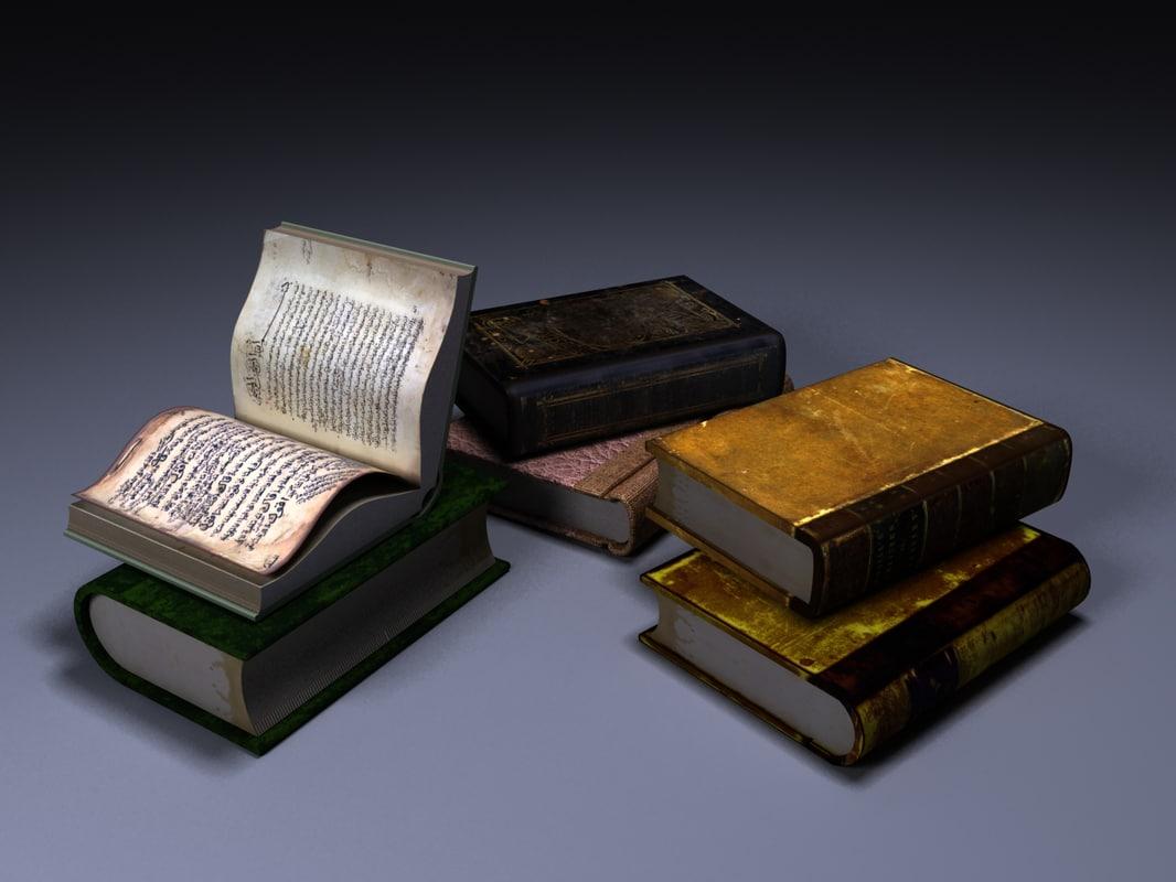 3d model of book