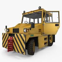 3d push tractor hallam he50 model