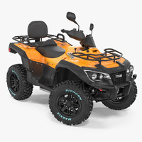 Quad Bike TGB 1000 2016 Rigged