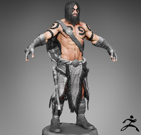 barbarian zbrush 3d 3ds