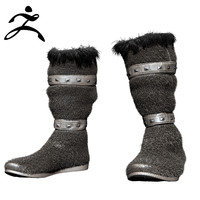 zbrush fur boots 3d 3ds