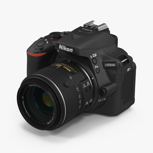 3d 3ds digital camera nikon d5500