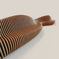 3d parametric bench wave-2