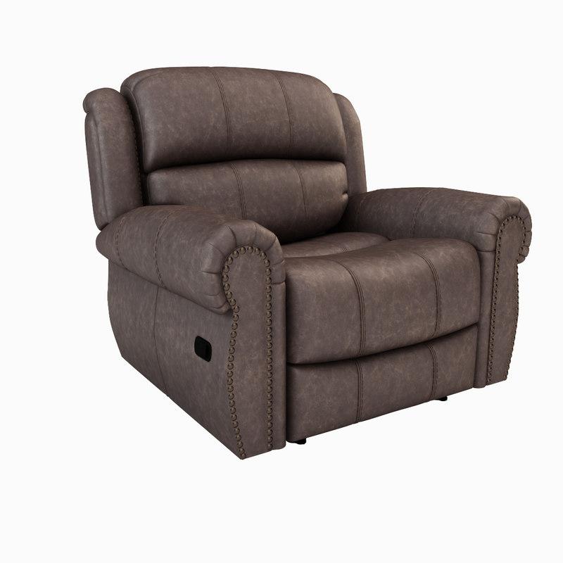 chatham gliding recliner 3d model