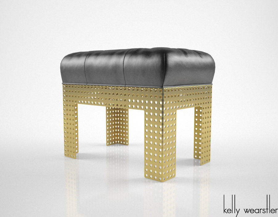 3d kelly wearstler precision bench model