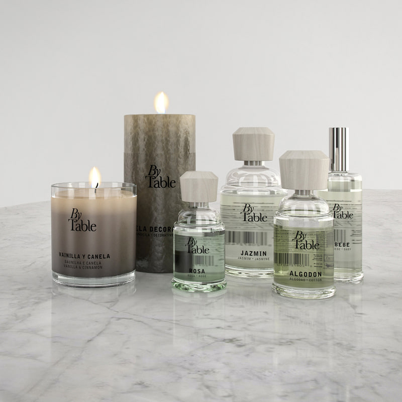 set fragrance table max
