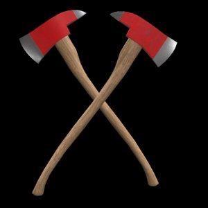 3d axe ready