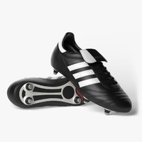 3d model photorealistic football boots