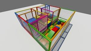 soft play 3d model