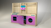 Wood Kitchen Toys