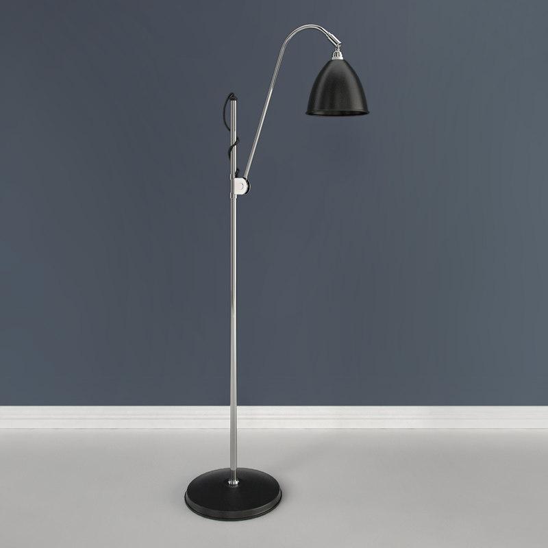 3d model bestlite bl3 floor lamp