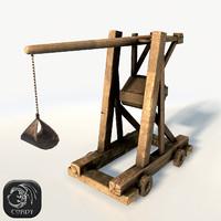 3d trebuchet model